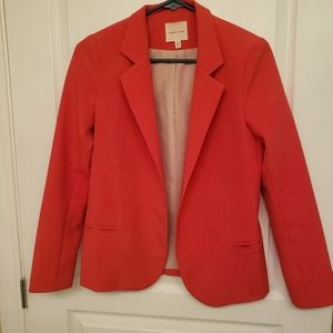 Silence + Noise Women's Red Pink Blazer Size XS